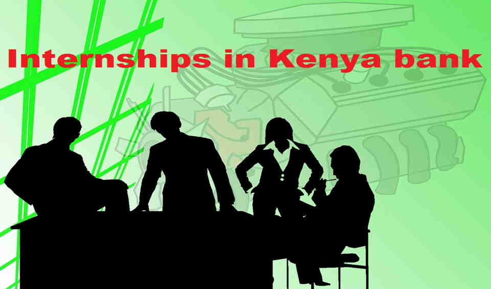Internship in Kenya banks