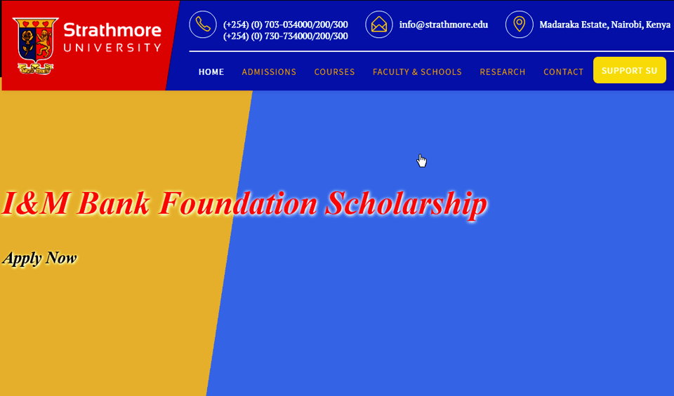 Strathmore scholarships