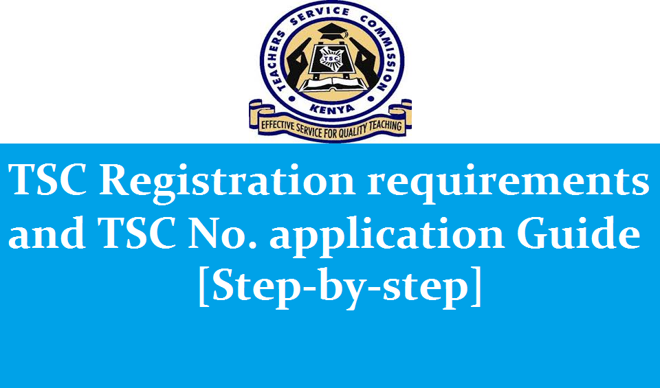 TSC registration qualifications