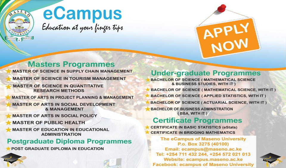 Maseno University Online Courses
