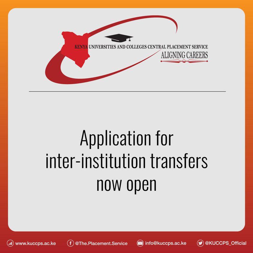 Inter institution transfer
