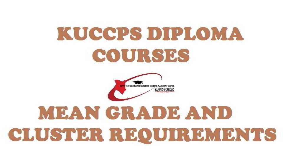 KUCCPS diploma courses
